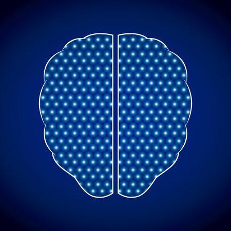 Illustration pour mental health design, vector illustration eps10 graphic - image libre de droit
