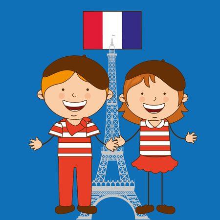Illustration for children of the world design, vector illustration eps10 graphic - Royalty Free Image