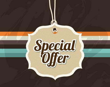 Illustration pour special offer design, vector illustration eps10 graphic - image libre de droit