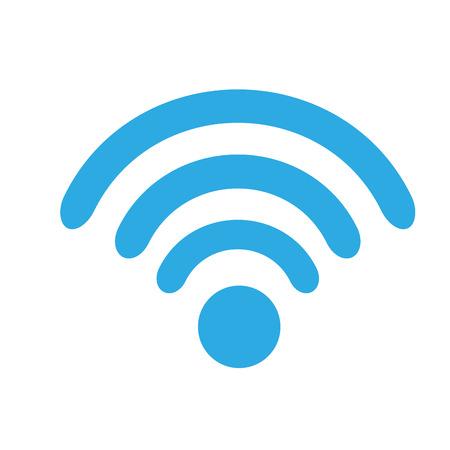 Illustration pour wifi technology signal internet communication illustration vector - image libre de droit