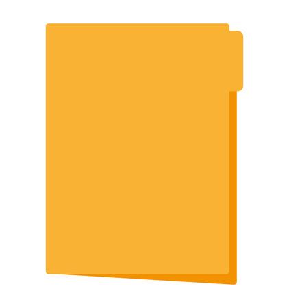 Ilustración de file folder document isolated icon vector illustration design - Imagen libre de derechos
