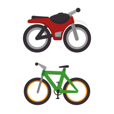 Photo for means of transport icons vector illustration design - Royalty Free Image