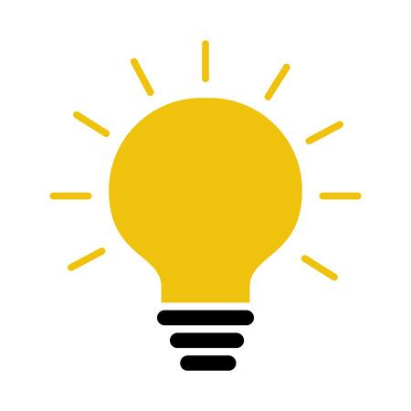 Illustration pour bulb light isolated icon vector illustration design - image libre de droit