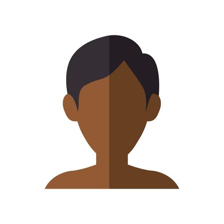 Illustration pour Young man profile icon vector illustration graphic design - image libre de droit