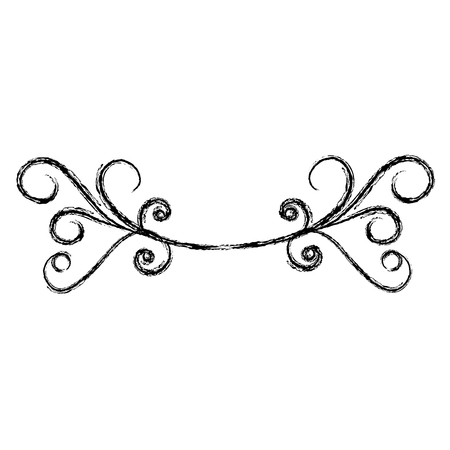 Illustration for Elegant Victorian style design vector illustration design - Royalty Free Image