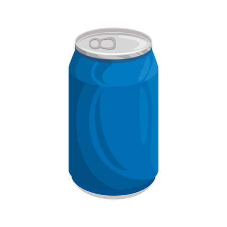 Illustration for can of soda icon vector illustration graphic design - Royalty Free Image
