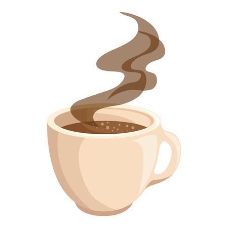 Ilustración de hot drink of chocolate icon vector illustration graphic design - Imagen libre de derechos