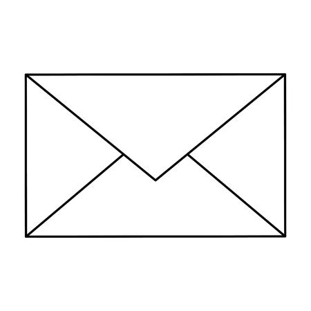 Illustration pour Email or mail symbol icon vector illustration graphic design - image libre de droit