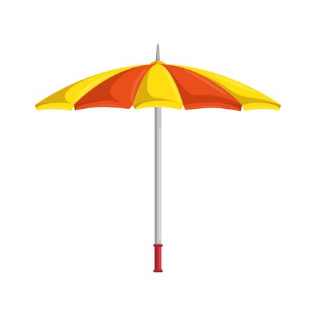 Ilustración de Umbrella isolated symbol icon vector illustration graphic design - Imagen libre de derechos