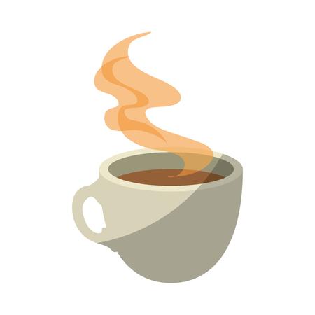 Illustration for mug coffee symbol icon vector illustration graphic design - Royalty Free Image
