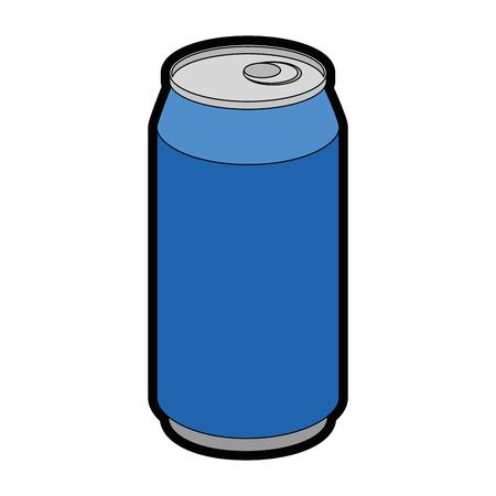 Ilustración de Can coke drink icon vector illustration graphic design - Imagen libre de derechos