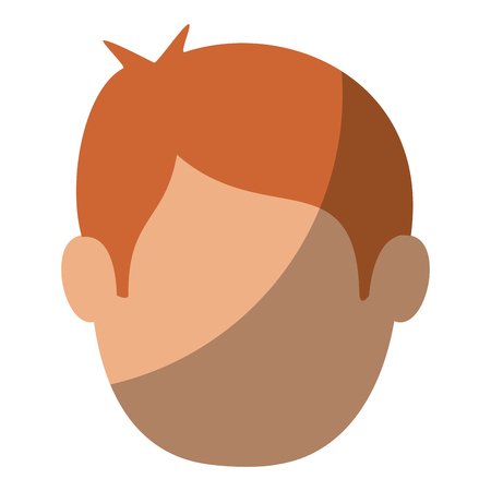 Illustrazione per Young man cartoon icon vector illustration graphic design - Immagini Royalty Free