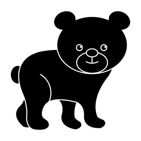 Cute and tender bear