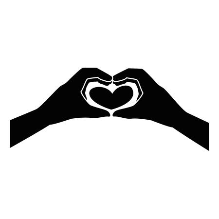 Illustration pour Human hand symbol icon vector illustration graphic design - image libre de droit