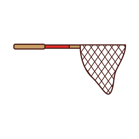 Ilustración de fishing net isolated icon vector illustration design - Imagen libre de derechos