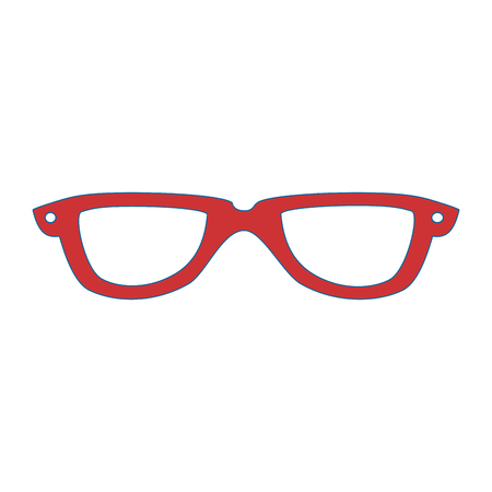 Ilustración de glasses fashion accessory - Imagen libre de derechos
