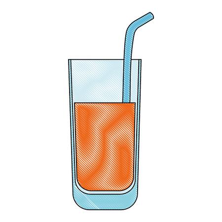 Ilustración de Juice glass - Imagen libre de derechos