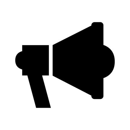 Illustration pour megaphone sound isolated icon vector illustration design - image libre de droit