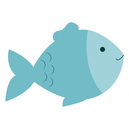 Ilustración de fish pet isolated icon vector illustration design - Imagen libre de derechos