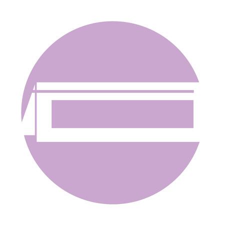 Ilustración de Restaurant reservation notice icon vector illustration design - Imagen libre de derechos