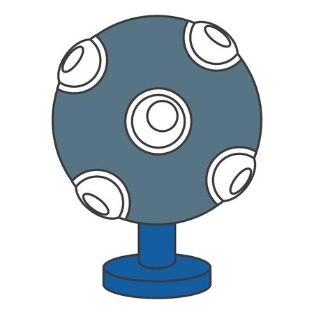 Illustration pour kinect technology isolated icon vector illustration design - image libre de droit