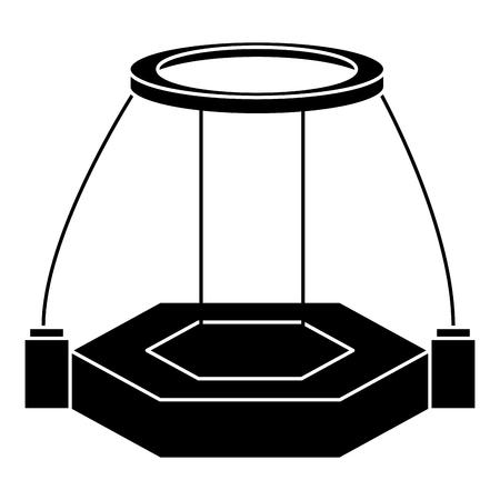 Illustration pour reality virtual plataform technology vector illustration design - image libre de droit
