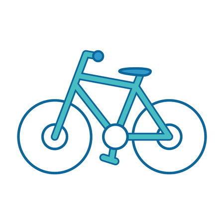 Illustrazione per Bicycle icon isolated on white background vector illustration - Immagini Royalty Free