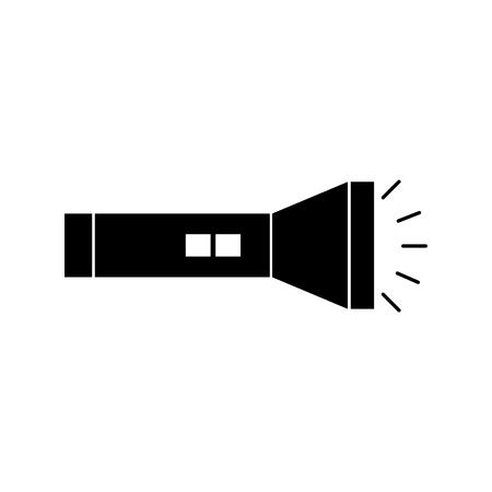 Illustration pour flash light isolated icon vector illustration design - image libre de droit