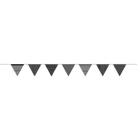 Ilustración de garlands party decoration icon vector illustration design - Imagen libre de derechos