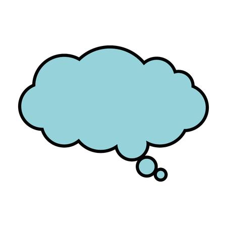 Ilustración de dream cloud isolated icon vector illustration design - Imagen libre de derechos