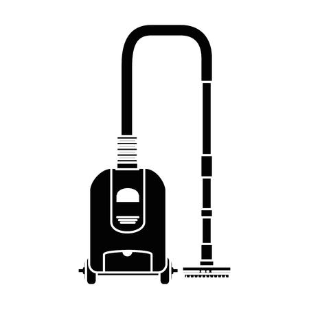 Ilustración de Vacuum appliance isolated icon vector illustration design - Imagen libre de derechos