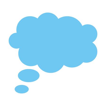 Illustration pour dream cloud isolated icon vector illustration design - image libre de droit