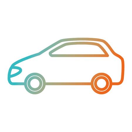 Ilustración de car vehicle isolated icon vector illustration design - Imagen libre de derechos