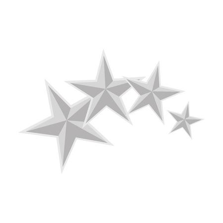 Illustration for Star medal shape icon vector illustration graphic design - Royalty Free Image