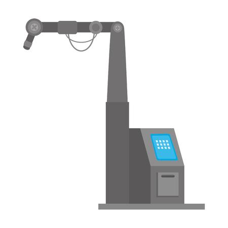 Illustration pour assembly machine isolated icon vector illustration design - image libre de droit