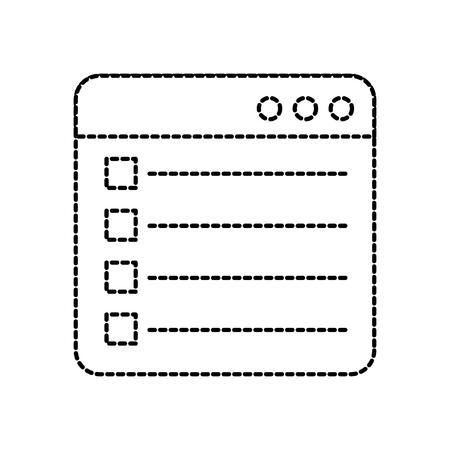 Photo pour web page check mark report list flat design graphic element vector illustration - image libre de droit