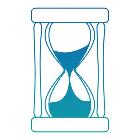 Illustration pour time hourglass isolated icon vector illustration design - image libre de droit