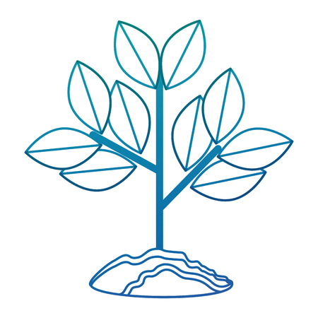Illustration pour cultivated plant isolated icon vector illustration design - image libre de droit