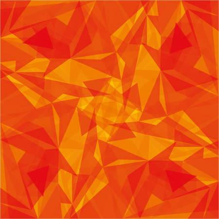 Illustration for orange modern geometrical abstract background texture vector illustration - Royalty Free Image