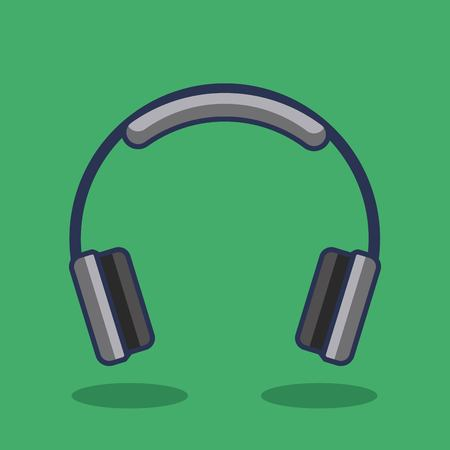 Ilustración de Headphones icon music device audio vector illustration - Imagen libre de derechos