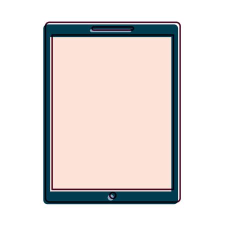 Illustration pour device technology tablet computer gadget vector illustration - image libre de droit