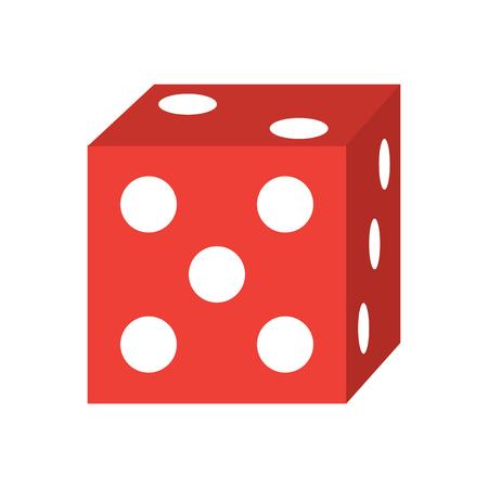 Ilustración de die game icon image vector illustration design  - Imagen libre de derechos