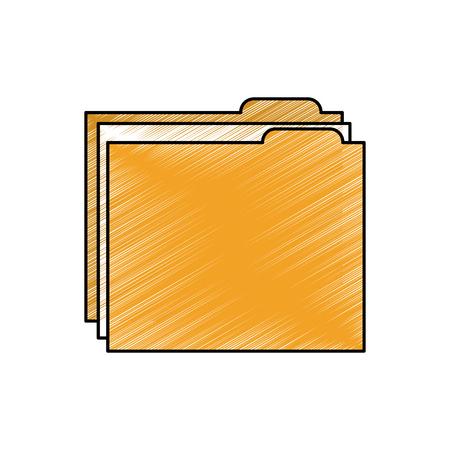 Ilustración de Folder file icon - Imagen libre de derechos