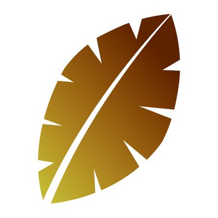 Ilustración de Leaf palm tree - Imagen libre de derechos