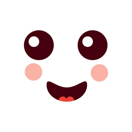 happy face emoji icon image vector illustration design