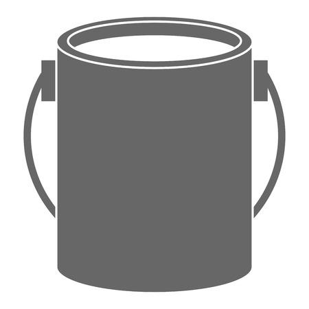 Ilustración de paint pot isolated icon vector illustration design - Imagen libre de derechos