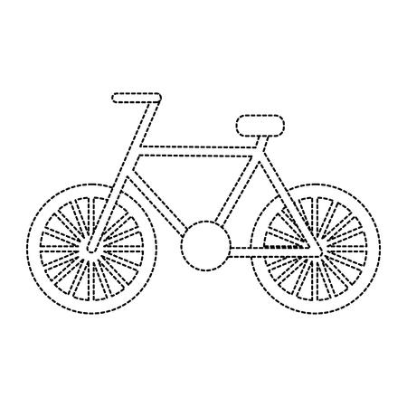 Illustrazione per Bike or bicycle icon image vector illustration - Immagini Royalty Free