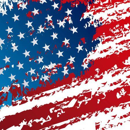 Ilustración de United states of america flag pattern design. - Imagen libre de derechos