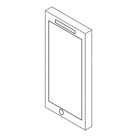 Illustration pour Mobile phone device illustration. - image libre de droit