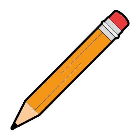 Illustrazione per Pencil write isolated icon illustration design. - Immagini Royalty Free